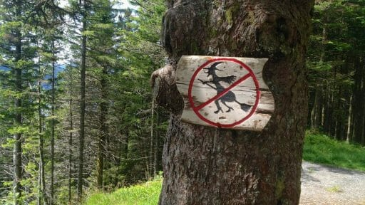 Norway - Witches Prohibited!